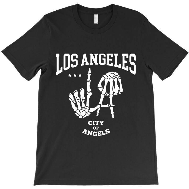 Los Angeles La City Of Angels T-shirt | Artistshot