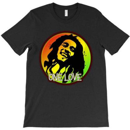 Bob Marley One Love T-shirt Designed By Marley Tees