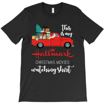 Christmas Movies Watching T-shirt Designed By Marley Tees