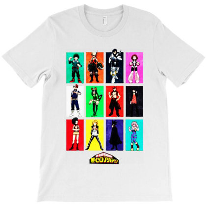 Hero Academia T-shirt Designed By Gotthis Tees
