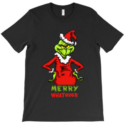 Funny Style Christmas Grinchy T-shirt Designed By Gotthis Tees
