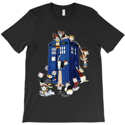 Doctor Meow Funny T-shirt Designed By Gotthis Tees