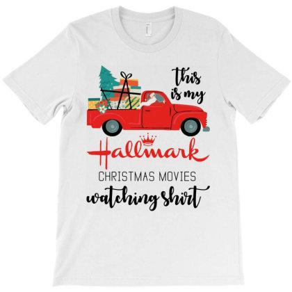 Christmas Movies Watching Shirt T-shirt Designed By Marley Tees