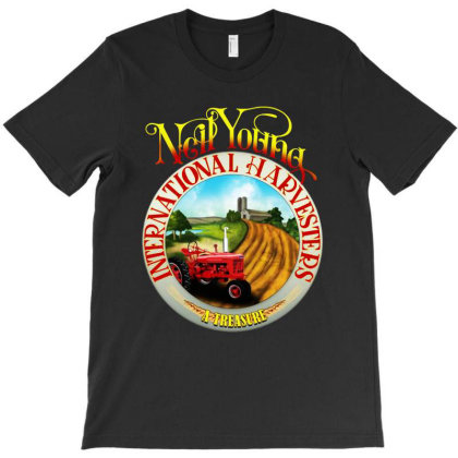 Neil Young Harvesters T-shirt Designed By Marley Tees