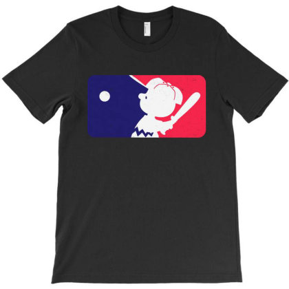 League Baseball Peanuts T-shirt Designed By Marley Tees