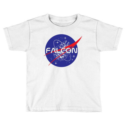 Falcon Space Agency Toddler T-shirt Designed By Gotthis Tees