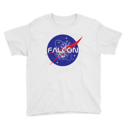 Falcon Space Agency Youth Tee Designed By Gotthis Tees