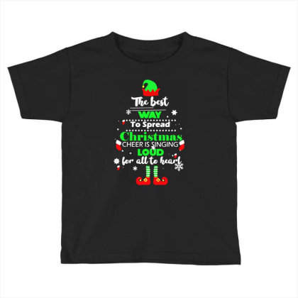 Elf Christmas Toddler T-shirt Designed By Gotthis Tees