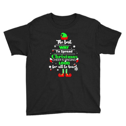 Elf Christmas Youth Tee Designed By Gotthis Tees
