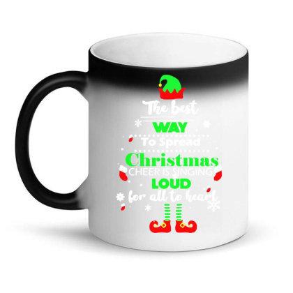 Elf Christmas Magic Mug Designed By Gotthis Tees