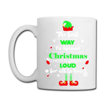 Elf Christmas Coffee Mug Designed By Gotthis Tees
