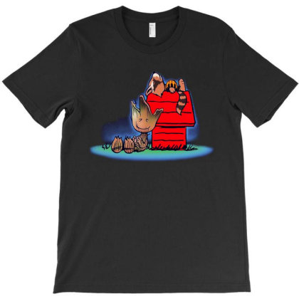Friends Of Galaxy Funny T-shirt Designed By Marley Tees