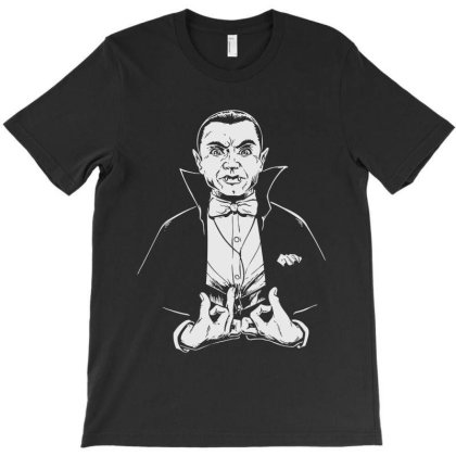 Dracula T-shirt Designed By Gotthis Tees