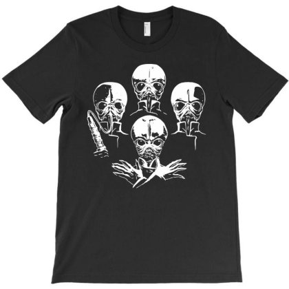 Aliens Parody Cantina Baand T-shirt Designed By Gotthis Tees