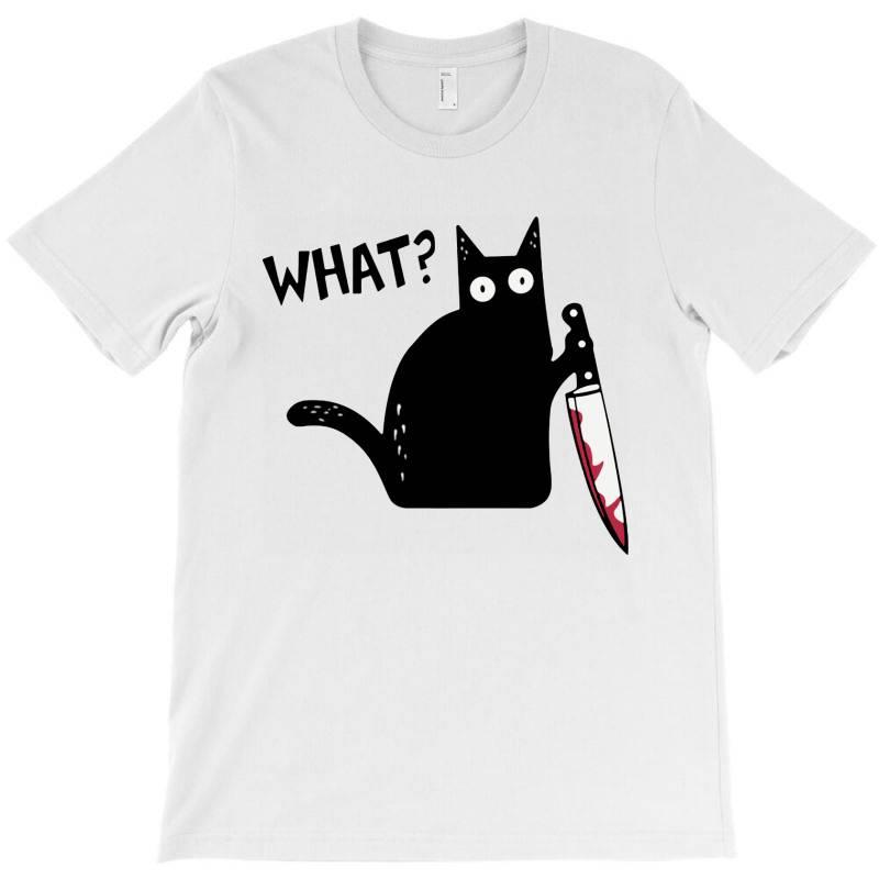 What Black Cat  Halloween T-shirt | Artistshot