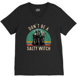vintage don't be a salty witch V-Neck Tee | Artistshot