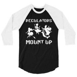 regulators mount up shirt witches halloween 3/4 Sleeve Shirt | Artistshot