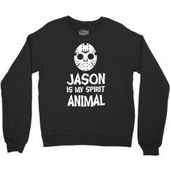 jason mask is my spirit animal friday 13th horror halloween Crewneck Sweatshirt | Artistshot