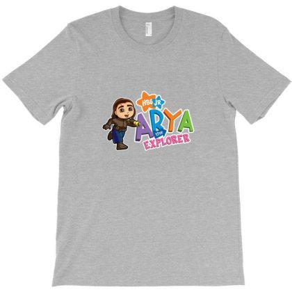 Arya The Explorer T-shirt Designed By Cuser4058