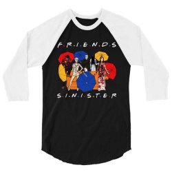funny horror friends sinister 3/4 Sleeve Shirt | Artistshot