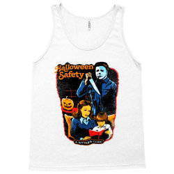 halloween safety a sitter's guide Tank Top | Artistshot