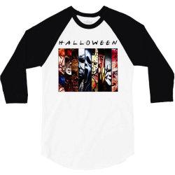 halloween horror squad 3/4 Sleeve Shirt | Artistshot