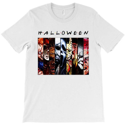 Halloween Horror Squad T-shirt Designed By Woko Art