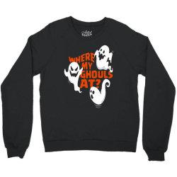 funny halloween ghost Crewneck Sweatshirt | Artistshot