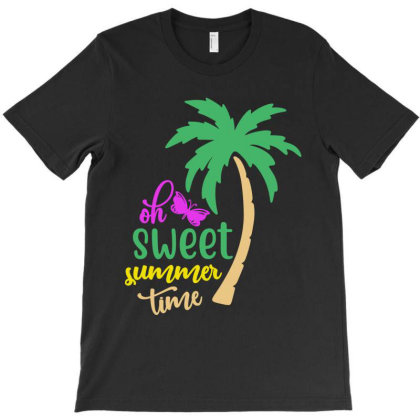 Sweet Summer Time T-shirt Designed By Irenestore