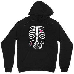 funny baby girl skeleton halloween pregnancy Unisex Hoodie | Artistshot