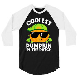 coolest halloween in the patch 3/4 Sleeve Shirt | Artistshot