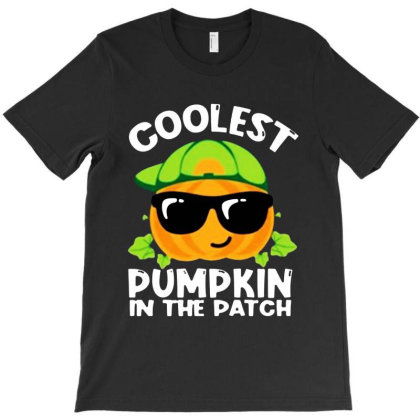 Coolest Halloween In The Patch T-shirt Designed By Woko Art
