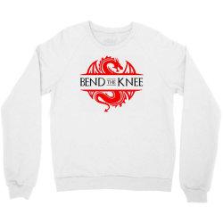 bend the knee Crewneck Sweatshirt | Artistshot