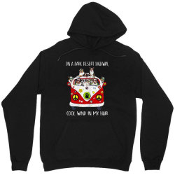 funny australian shepherd dog cool wind in my hair Unisex Hoodie | Artistshot