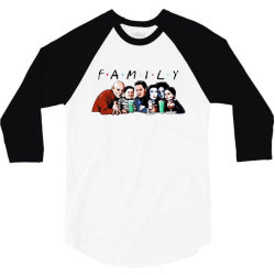 family friends tv show halloween 3/4 Sleeve Shirt | Artistshot