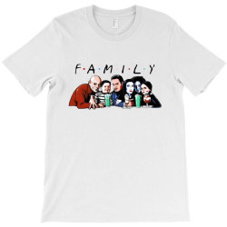 family friends tv show halloween T-Shirt | Artistshot
