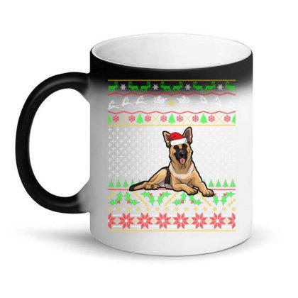 German Shepherd Christmas Sweater T Shirt Magic Mug Designed By Gnuh79