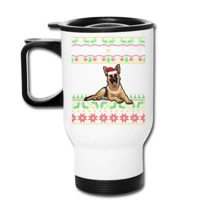 German Shepherd Christmas Sweater T Shirt Travel Mug Designed By Gnuh79