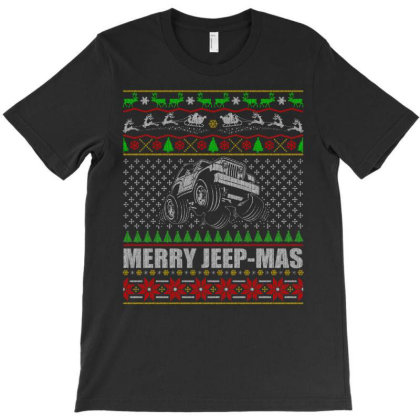 Merry Jeep Mas T Shirt T-shirt Designed By Gnuh79
