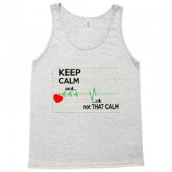 Keep Calm Nurse Tank Top   Artistshot