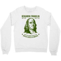 benjamin franklin united states america Crewneck Sweatshirt | Artistshot