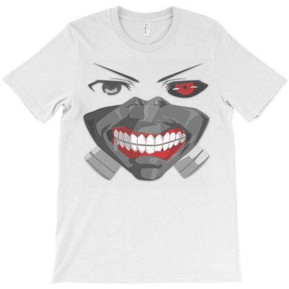 Kaneki Ghoul. T-shirt Designed By Kiva27