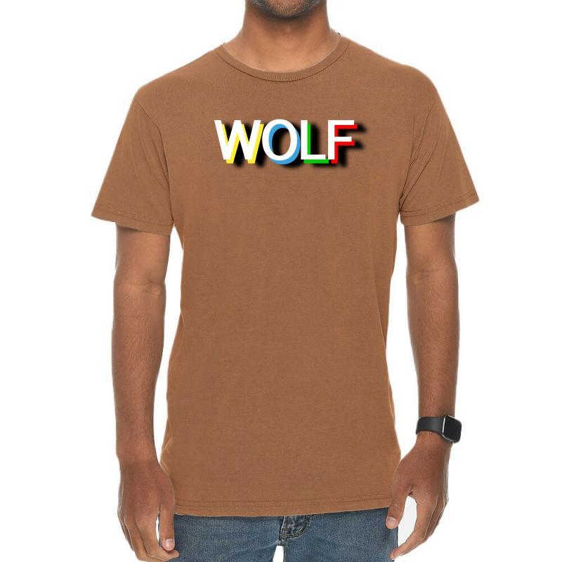 Wolf Vintage T-shirt | Artistshot