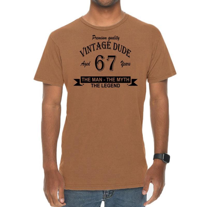 Aged 67 Years Vintage T-shirt | Artistshot