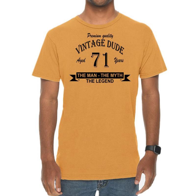Aged 71 Years Vintage T-shirt | Artistshot