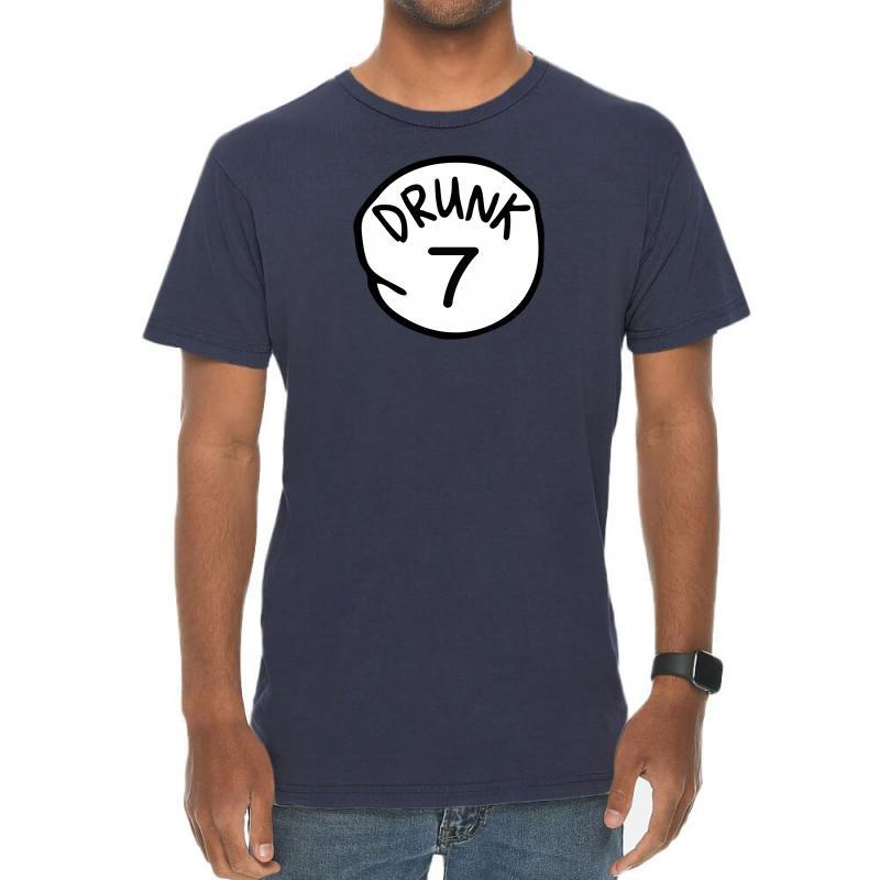 Drunk7 Vintage T-shirt   Artistshot