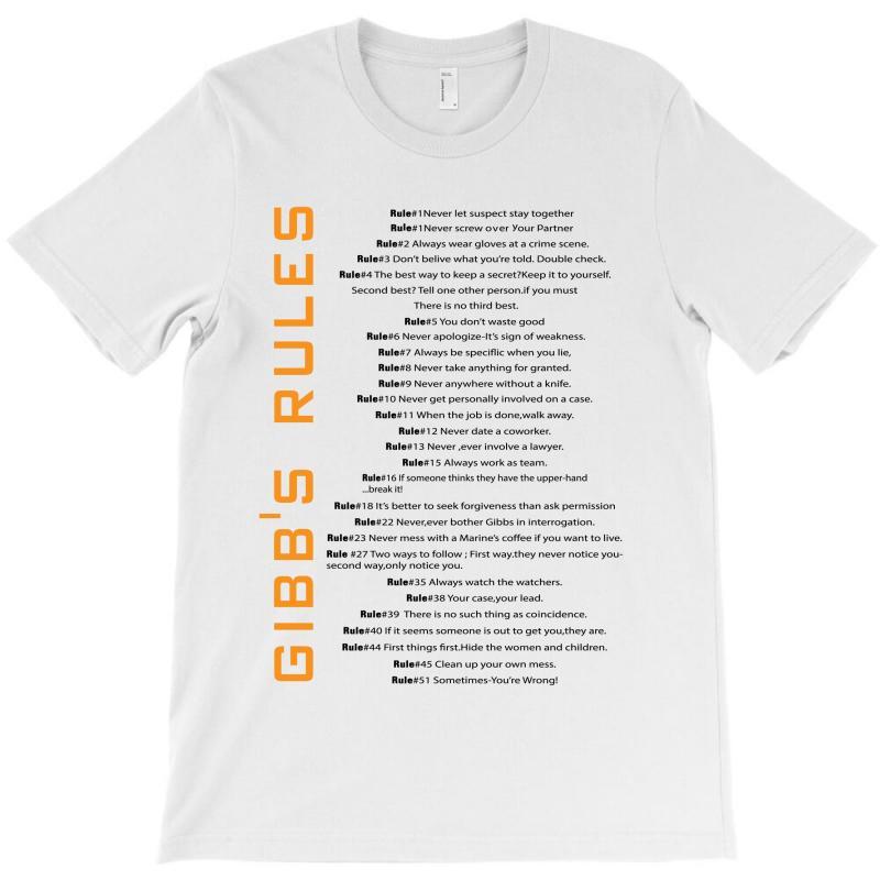 Gibbs's Rules T-shirt | Artistshot