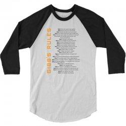 Gibbs's Rules 3/4 Sleeve Shirt | Artistshot