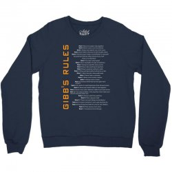 Gibbs's Rules Crewneck Sweatshirt | Artistshot