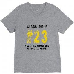 Gibbs's Rules 23 V-Neck Tee | Artistshot